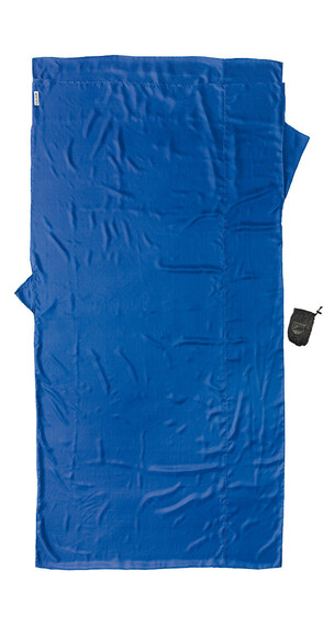 Cocoon TravelSheet Inlet Silk XL ultramarine blue